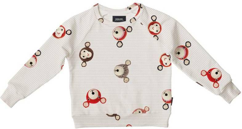 Stoerkids Snurk kinder sweater Cavia Mania kinderkleding