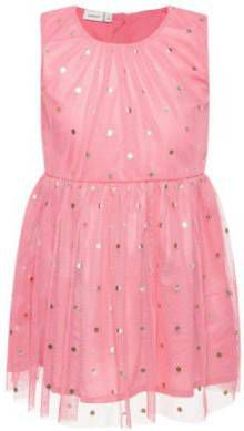 Ongebruikt Name it Girl s jurk Nmfsara bubblegum Roze/lichtroze Gr.Babymode TK-85