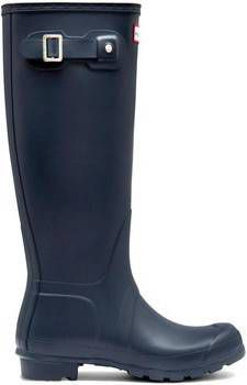 Regenlaars Hunter Original Wellington Tall Gloss Navy