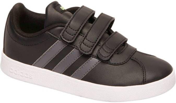 Adidas VL Court 2.0 sneakers zwartgroen