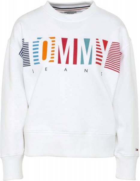 Sweater Tommy Jeans TJW COLORFUL BLOCK TOMMY CREW
